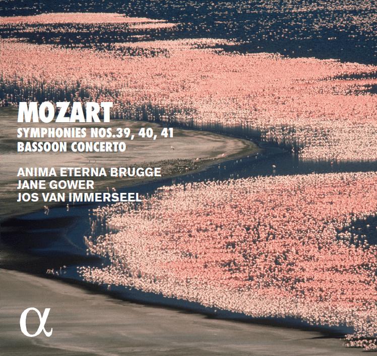 Wolfgang Amadeus Mozart: Symphonies n° 39, 40, 41 – Bassoon Concerto